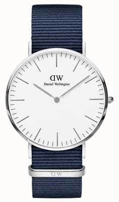 Daniel Wellington Classic Bayswater 40 Silver Case White Dial DW00100276
