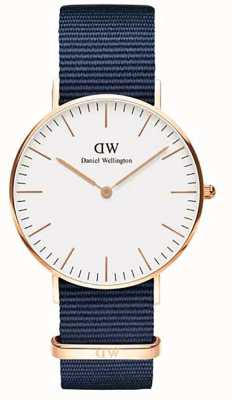 Daniel Wellington Classic Bayswater 36 Rose Gold White Dial DW00100279