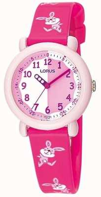 Lorus Kids Pink Bunny Watch RG243BX9