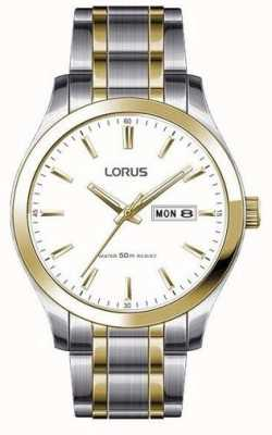 Lorus Men's Two-Tone Stainless Steel Watch RXN60DX9