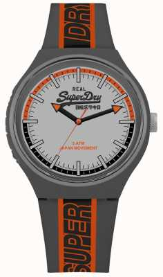 Superdry Urban XL Sport Matt Cool Grey Dial Grey Strap SYG238EO