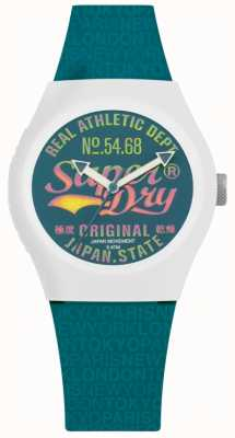 Superdry Urban Paradise Teal Dial And Strap SYL249AU