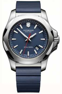 Victorinox Swiss Army Mens I.N.O.X. Watch Blue Rubber Strap 241688.1