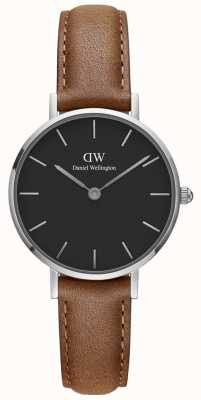 Daniel Wellington Ladies Petite Classic Watch Brown Leather Strap DW00100234
