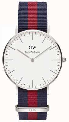 Daniel Wellington Mens Classic Oxford Watch Silver DW00100046
