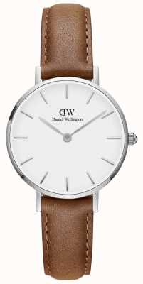 Daniel Wellington Ladies Classic Petite Durham Brown Leather Watch DW00100240