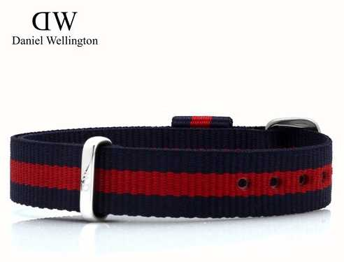 Daniel Wellington Classy Oxford Blue And Red Rose Strap 13mm 1025DW
