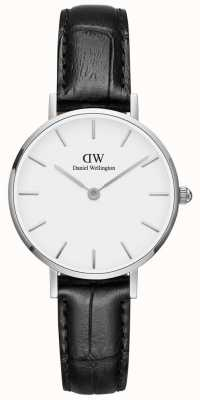 Daniel Wellington Ladies Classic Petite Reading Watch Black Leather Strap DW00100241