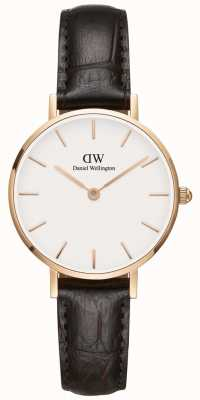 Daniel Wellington Ladies Classic Petite York Rose Gold Watch DW00100232
