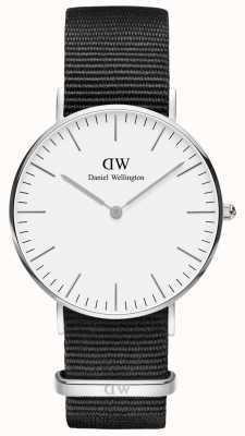 Daniel Wellington Classic Cornwall Unisex Silver Watch DW00100260