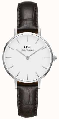 Daniel Wellington Ladies Classic Petite York Silver Watch DW00100244
