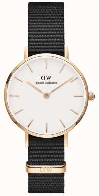 Daniel Wellington Ladies Classic Petite Cornwall Watch Rose Gold Case DW00100251
