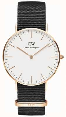 Daniel Wellington Classic Cornwall Rose Gold Unisex Watch DW00100259