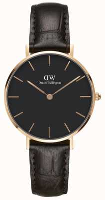 Daniel Wellington Unisex Classic York Watch Rose Gold Case DW00100170