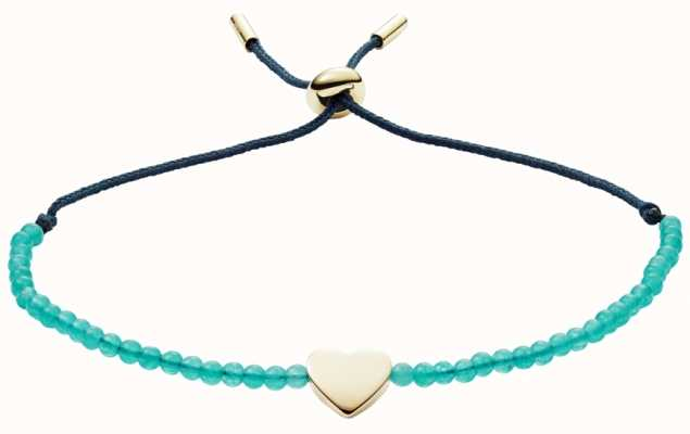 Fossil Vintage Motifs Jade Bead Bracelet JF02978710