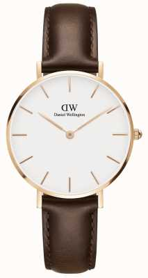 Daniel Wellington Classic Bristol Unisex Rose Gold Watch DW00100171