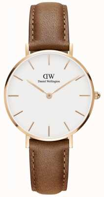 Daniel Wellington Classic Durham Unisex Watch Rose Gold Case DW00100172