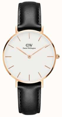 Daniel Wellington Classic Sheffield Unisex Watch Rose Gold Case White Dial DW00100174