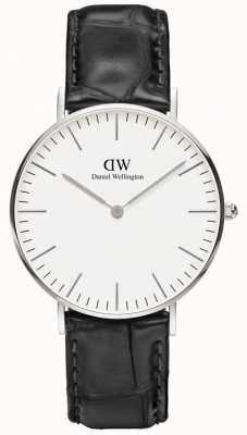 Daniel Wellington Mens Classic Reading Watch Silver DW00100058