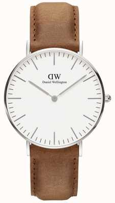 Daniel Wellington Mens Classic Durham Silver Watch DW00100112