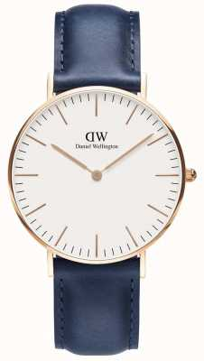 Daniel Wellington Mens Classic Somerset Watch Rose Gold Case DW00100123