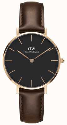 Daniel Wellington Mens Classic Bristol Watch Rose Gold Case DW00100165