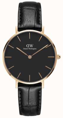 Daniel Wellington Mens Classic Reading Watch Rose Gold Case DW00100167