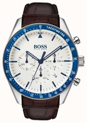 Hugo Boss Mens Trophy White Dial 1513629