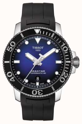 Tissot Seastar 1000 Men's Powermatic 80 Automatic Black Rubber T1204071704100