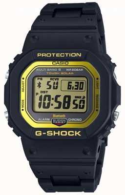 Casio G-Shock Bluetooth Radio Controlled Composite Band Black/Yel GW-B5600BC-1ER