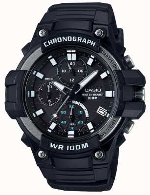 Casio Core Sports Chronograph Black WR100M MCW-110H-1AVEF