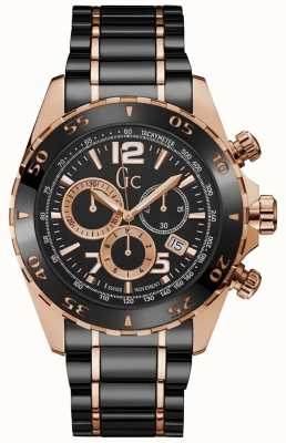 Gc Sportracer Mens Chronograph Black Dial Y02014G2