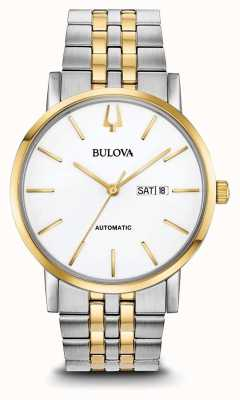 Bulova Men's Classic Automatic Two Tone Watch 98C130
