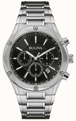 Bulova Men's Chronograph Stainless Steel Watch 96B247