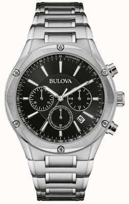 Bulova Men's Chronograph Stainless Steel Watch 96B247