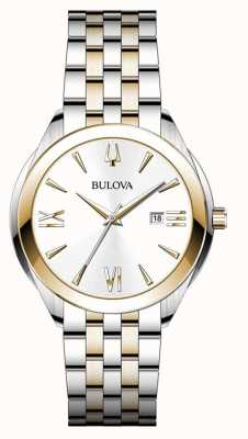 Bulova Women's Two Tone Stainless Steel Watch 98B331