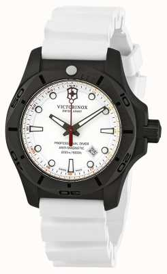 Victorinox Swiss Army INOX Professional Diver Titanium White Rubber Strap 241811