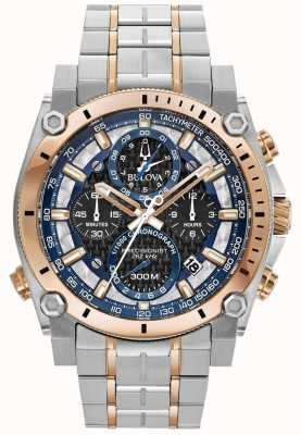 Bulova Men's Sport Champlain Precisionist Stainless Steel Watch 98B317