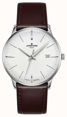 Junghans Meister MEGA MF Brown Leather Strap 058/4800.00