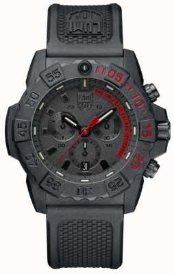 Luminox Navy Seal 3580 Chronograph Black/Red With PU Strap XS.3581.EY