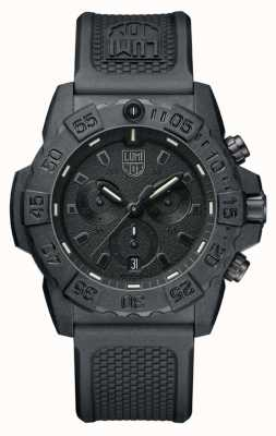 Luminox Navy Seal 3580 Chronograph Black/Black With PU Strap XS.3581.BO
