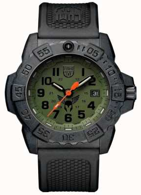 Luminox Navy Seal 3500 Black Dial Black And Green Strap Set XS.3501.VP1.SET