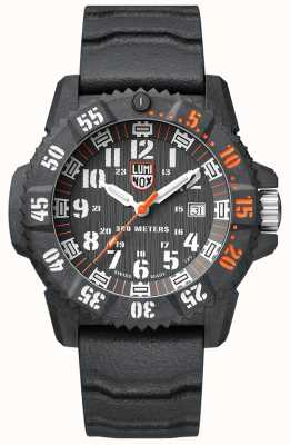 Luminox Carbon Seal 3800 Grey Dial With Rubber And Mesh Strap Set XS.3801.C.SET