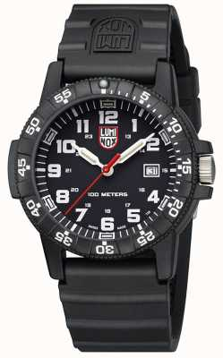 Luminox Leather Back Sea Turtle 0320 Giant Black Black PU Strap XS.0321.VP2.SET