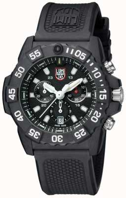 Luminox Mens Navy Seal 3580 Chrono Black/White PU Strap XS.3581