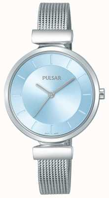 Pulsar Ladies Stainless Steel Strap Light Blue Dial PH8411X1