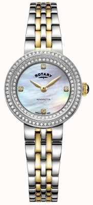 Rotary Ladies Kensington | Two-Tone Stainless Steel Bracelet | LB05371/41