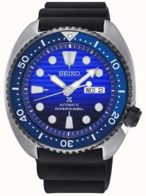 Seiko Mens Save The Ocean Special Edition Rubber Strap Prospex SRPC91K1