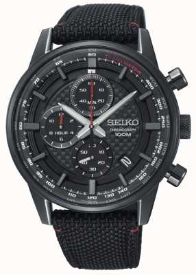 Seiko Mens Urban Sport Chronograph Nylon Strap SSB315P1