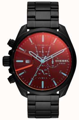 Diesel Mens MS9 Watch Iridescent Glass Chronograph Dial DZ4489
